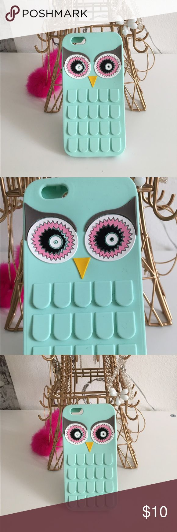 • Cute Pastel Laser Cut Owl Phone Case • Adorable case! Two small black marks on it, came this way out of the package. Fits iPhone 6s. ⭐️Bundles 15% off⭐️  please feel free to ask any questions or submit an offer. Accessories Phone Cases