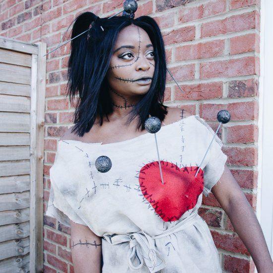 Get spooky with this Easy DIY Voodoo Doll tutorial!