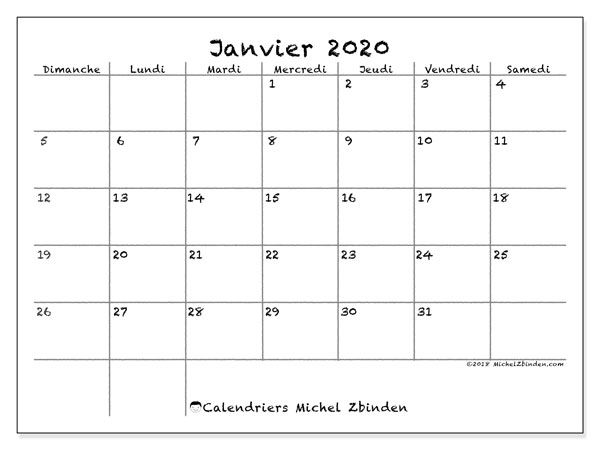 Calendrier Janvier 2020.Calendrier Janvier 2020 77ds Calendrier Novembre