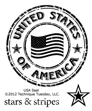 USA Seal by Technique Tuesday