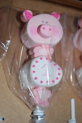 piggie marshmallow treats!
