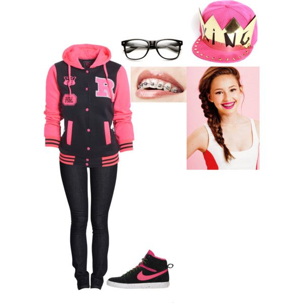 It's hard being the cute girls with braces - Polyvore