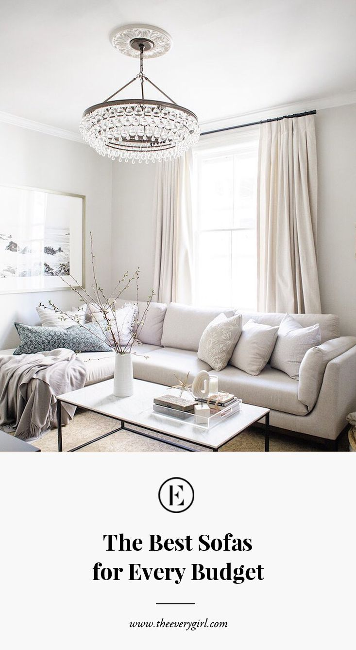 Delightful The Best Affordable Sofas For Every Budget | The Everygirl
