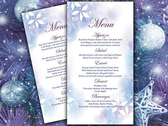 25+ parasta ideaa Pinterestissä Diy wedding menu cards - microsoft word menu templates