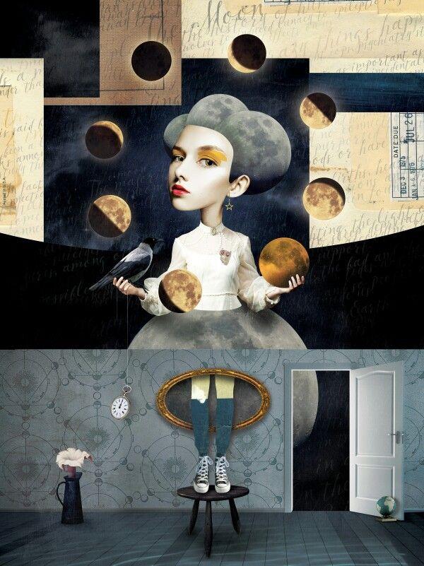 Caitlin Truman-baker. 'lunar tic'