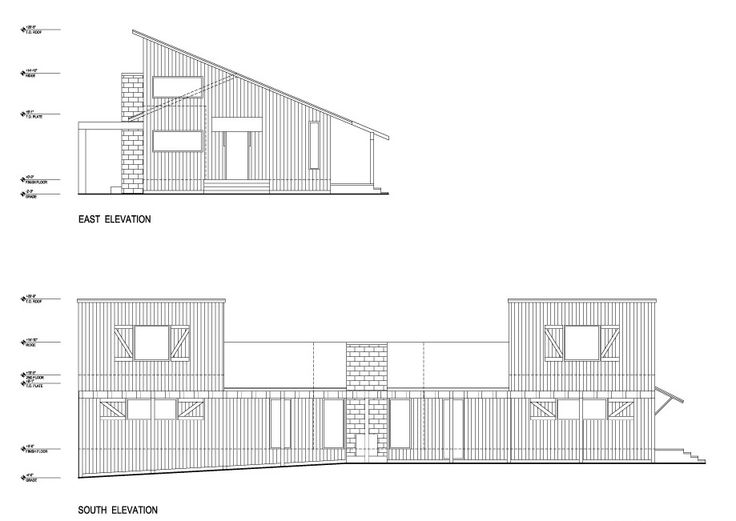 ecovastudesign / Keirns Residence / Schematic Design - Elevations