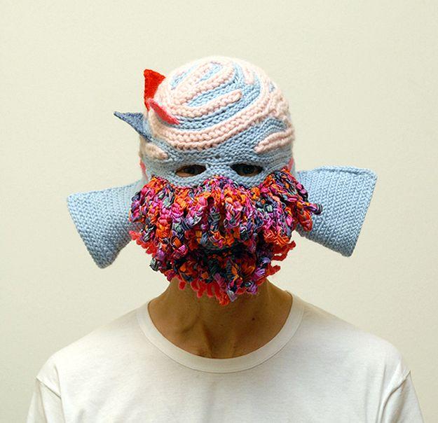 another creepy crochet mask