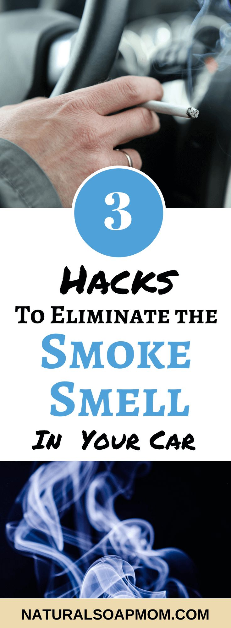 3 amazing hacks of how to get rid of the smoke smell in