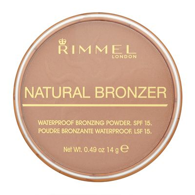 Rimmel Natural Bronzer Waterproof Bronzing Powder SPF 15 - Sun Light 14g
