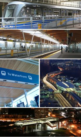 Canada Line - connecting downtown Vancouver to YVR International Airport