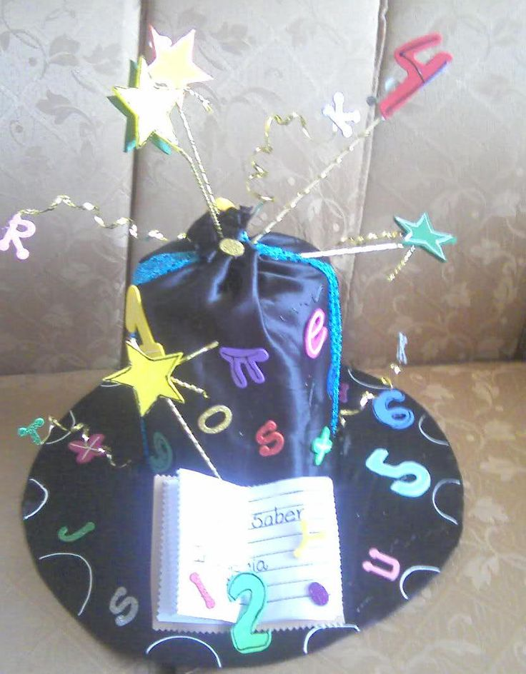 Sombreros locos para niños en material reciclable - Imagui