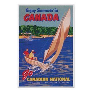 Enjoy summer in Canada. #canada #canadaday #canada150 #canadatravel #canadatourism #sailboat #sailboatsofinstagram #sailing #sailinglife #sailinginstagram #lovesailing #summerincanada #vintagesummer #vintagecanada #vintageart #vintageposter #zazzle #zazzlemade #vintagetravel #vintagesailboat #vintagetravelposter #canadasummer