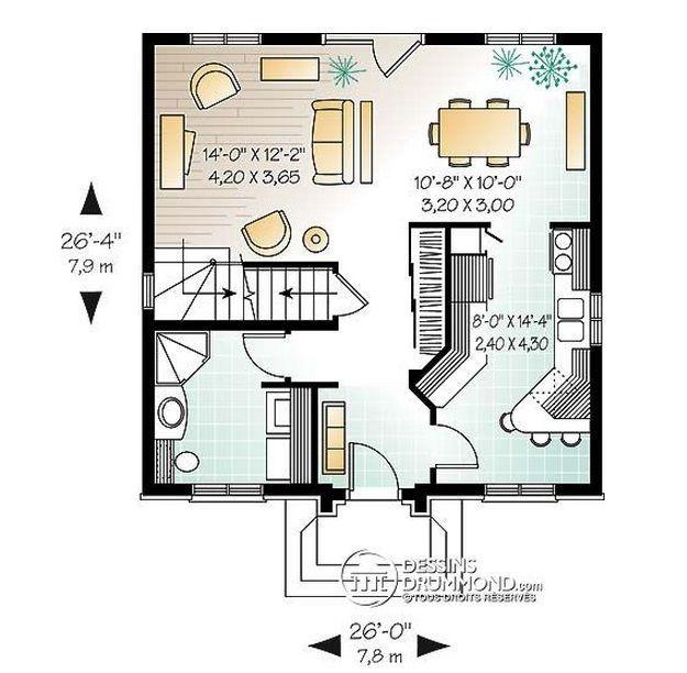 Planos De Dúplex | Planos de casas