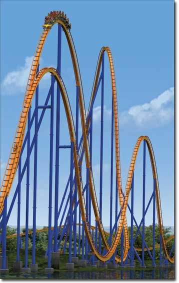 Adrenalina rollercoaster