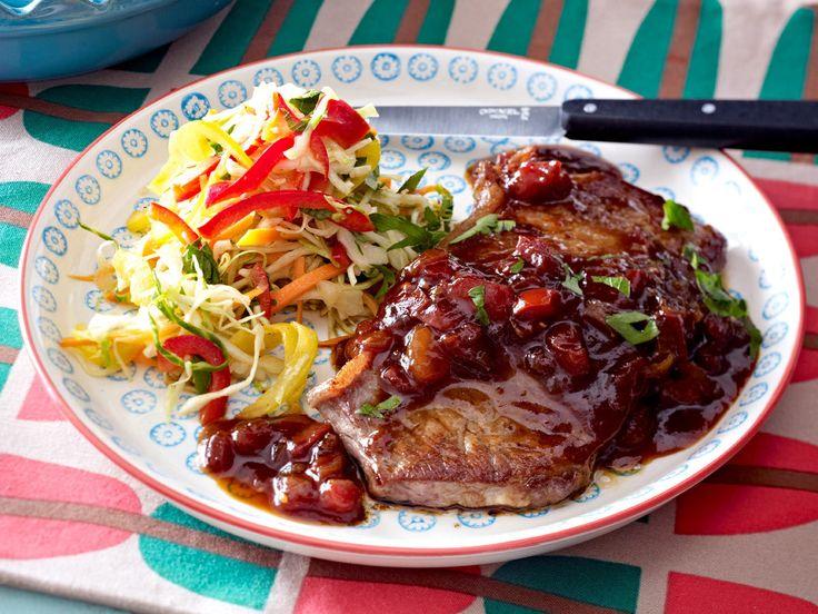 Rumpsteak - raffinierte Rezepte mit feinem Fleisch - monkey-gland-steak  Rezept