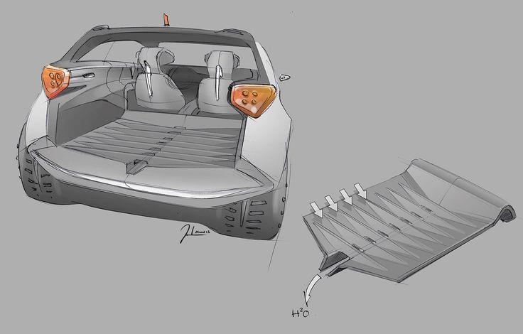 Kia Niro Concept - Design Sketch