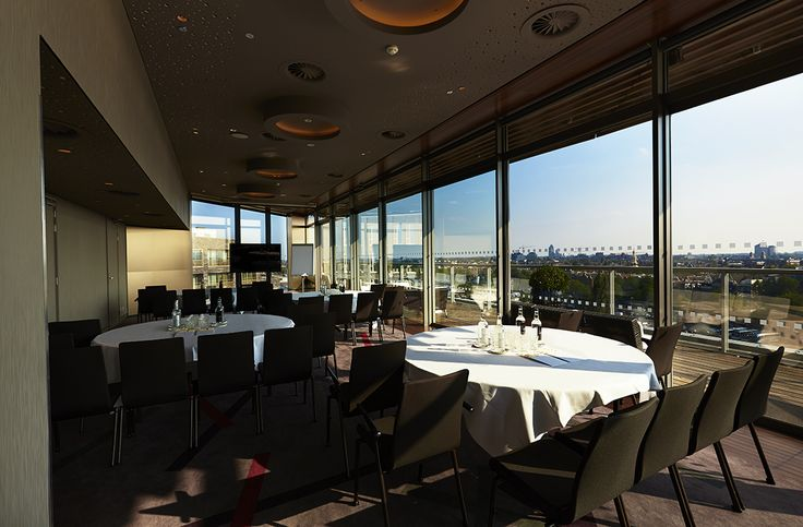 Meeting and Dinner possibilities at the SkyLounge Amsterdam