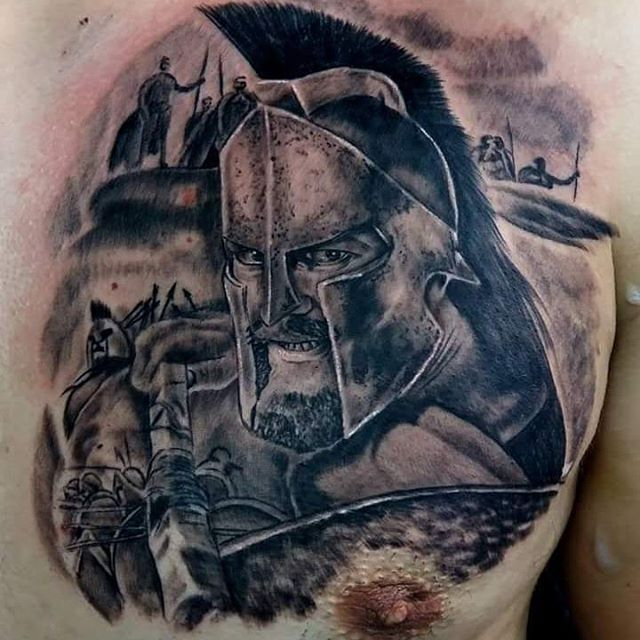 Warriors Of The Dawn Greek Subs: 1000+ Ideas About Spartan Tattoo On Pinterest