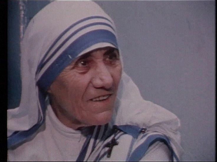 Vetaix: Fattigdom i Indien. Moder Teresa talar om fattigdom, givande, kärlek. 20 min