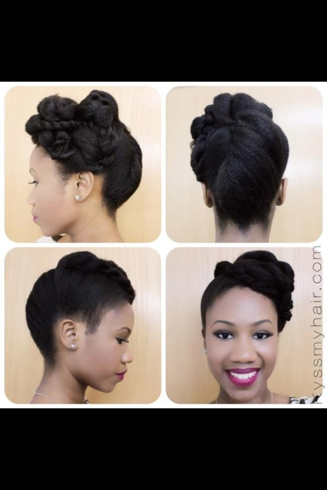 The 37 best images about natural city updos on pinterest flat find this pin and more on natural city updos natural hair updo hairstyle pmusecretfo Images