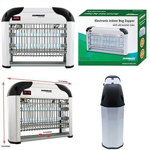 Electronic Insect Killer Home Protection Indoor Outdoor Fly Bug Zapper 12W NEW #ElectronicInsectKillerHomeProtection