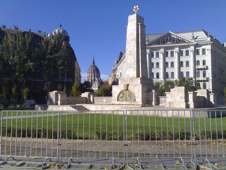 Freedom square, Budapest