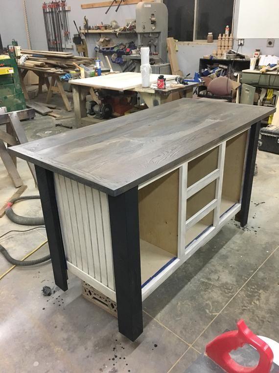 Kücheninsel mit Stauraum, Kücheninseln mit Sitzgelegenheiten, maßgefertigte Kücheninsel aus Holz ...