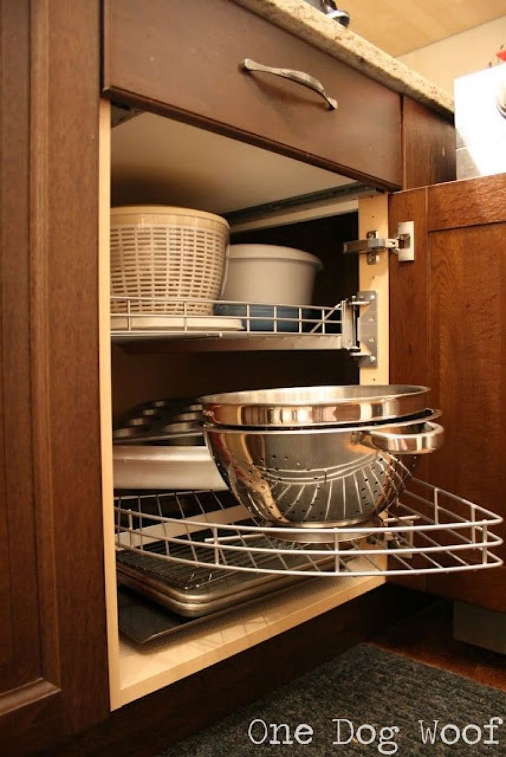 best cookware storage images on pinterest kitchen ideas