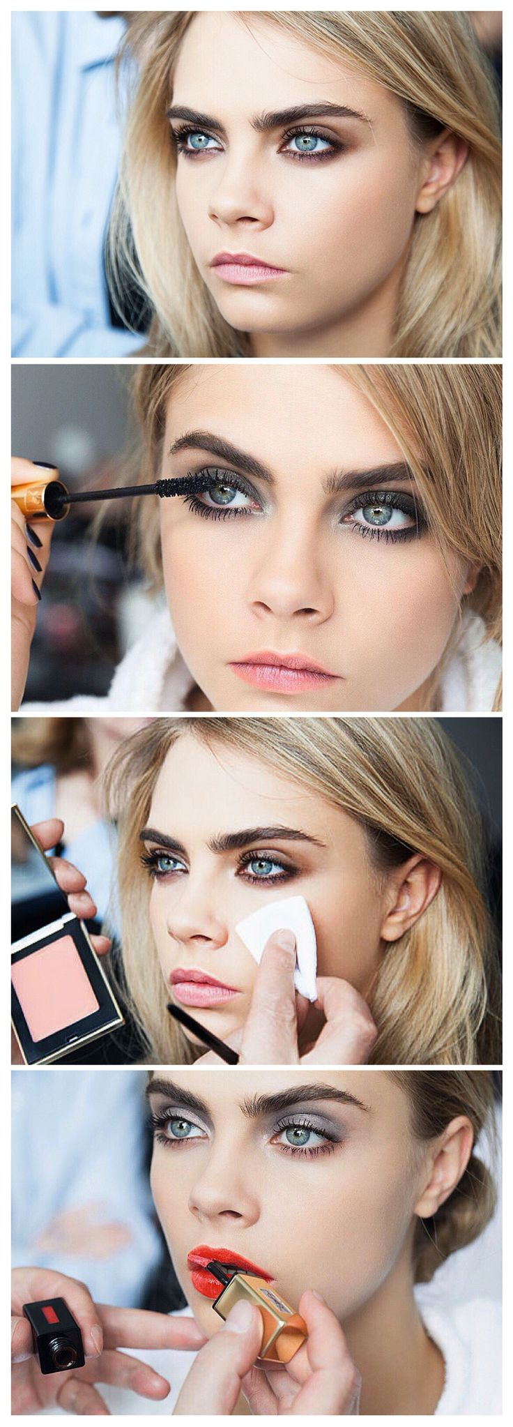 Cara Delevingne a tomboy who can still wear makeup and a dress. Xx