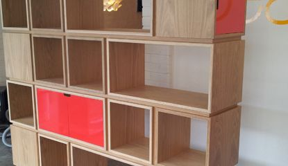 plywood shelving design - Google Search