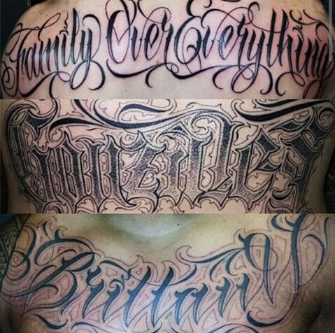 Chicano Tattoo Lettering Lettering Pinterest Chicano