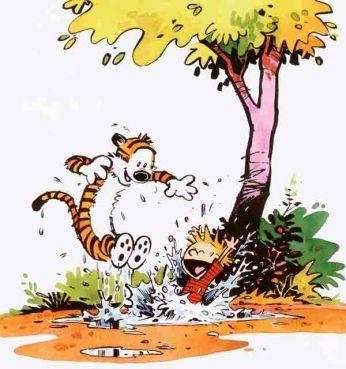 Quadrinhos » Calvin e Haroldo » Calvin e Haroldo - Diversão :: Old Posters