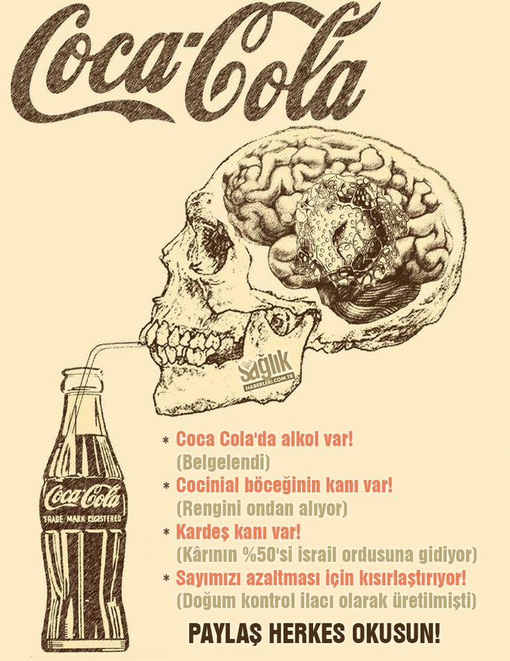 Yoksa siz hala Coca Cola içiyor musunuz? #sağlıkhaberleri
