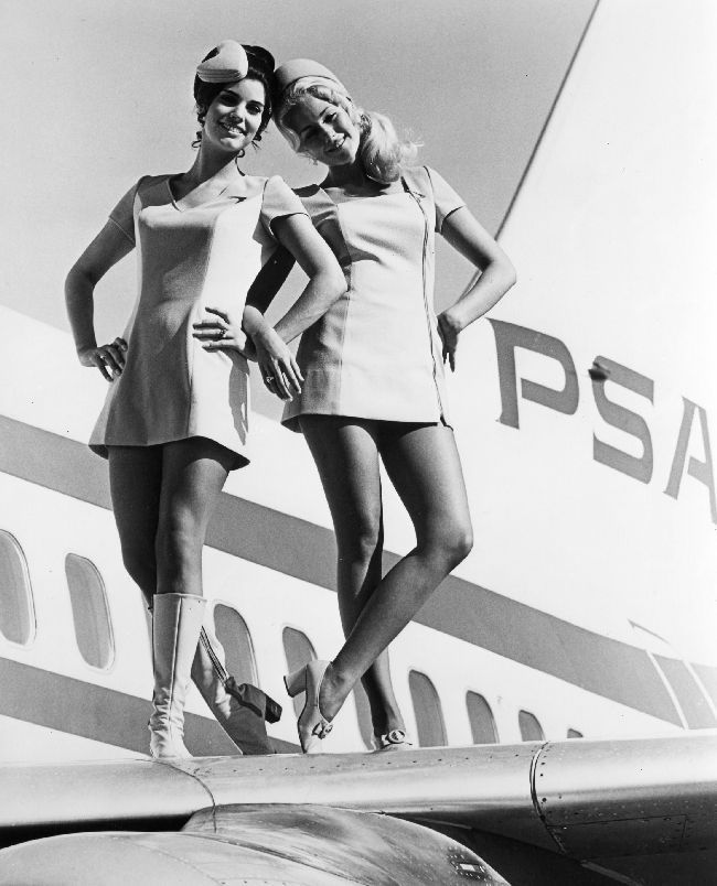 Pacific Southwest Airlines Flight Attendants    The Bond of Inflight....is…