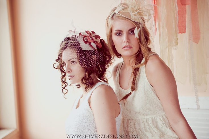 Gorgeous Photo By Kim Mallory  featuring Shiverz Rose Blusher & Champagne Pop Sinamay Fascinator