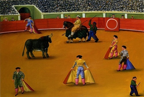 Bull-fight Botero (2002)