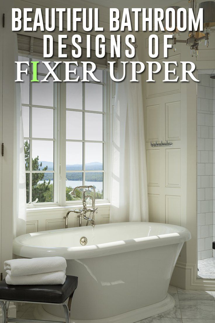 The Best Bathroom Renovations from HGTVs Fixer Upper  Fixer Upper Bathroom Renovations
