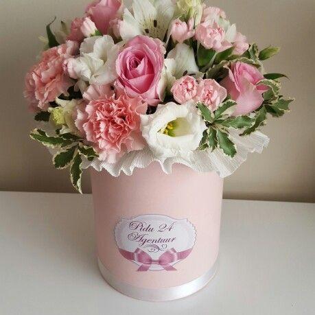 Красивые букеты цветов фото в коробке
