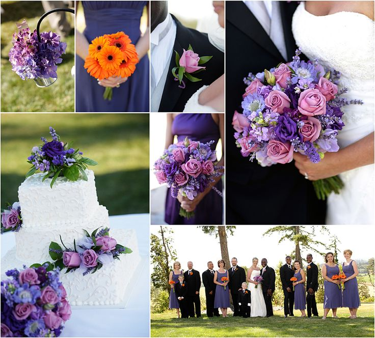 Summer Wedding Colors Purple Images