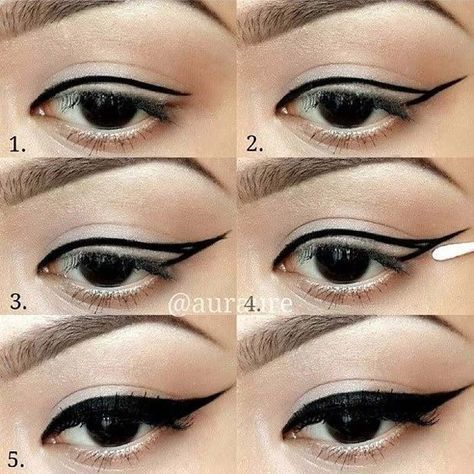 winged eyeliner tutorials  useful how to draw perfect