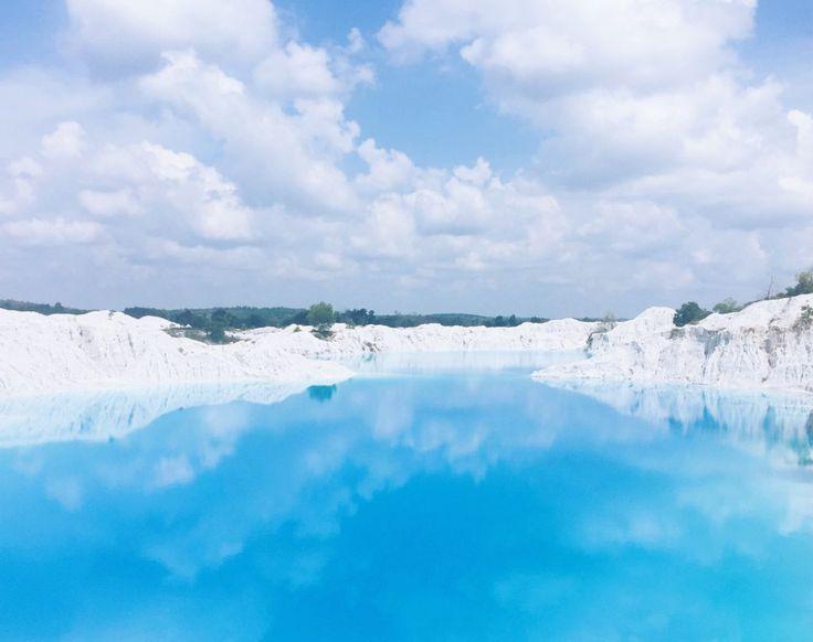Camoi Aek Biru Keindahan Wisata yang Hits di Pulau Bangka - Kepulauan Bangka Belitung