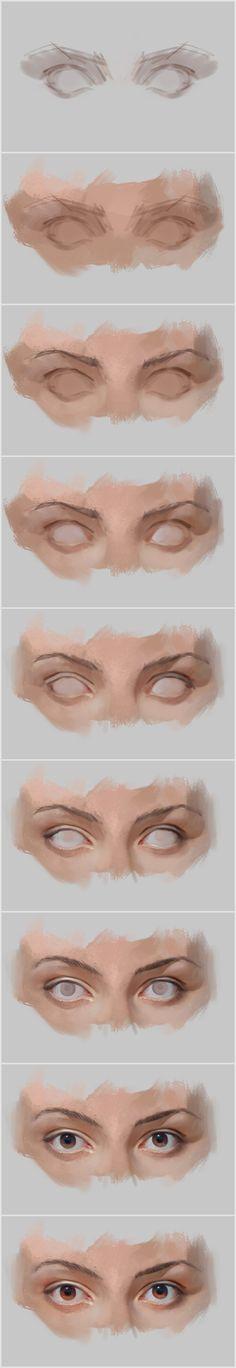 Eyes by vladgheneli.deviantart.com on @DeviantArt