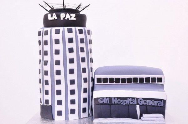 #Tarta #Fondant Hospital La Paz #Madrid