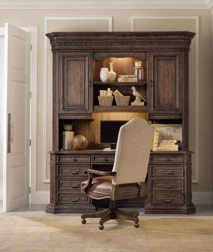 Rhapsody Computer Credenza U0026 Hutch By Hooker Furniture