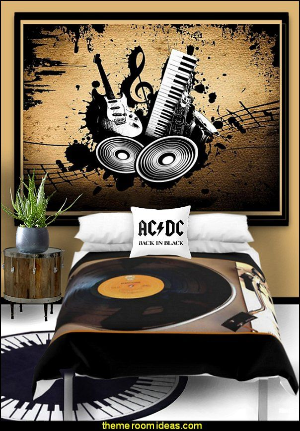 music bedrooms music bedding music murals Music bedroom ...
