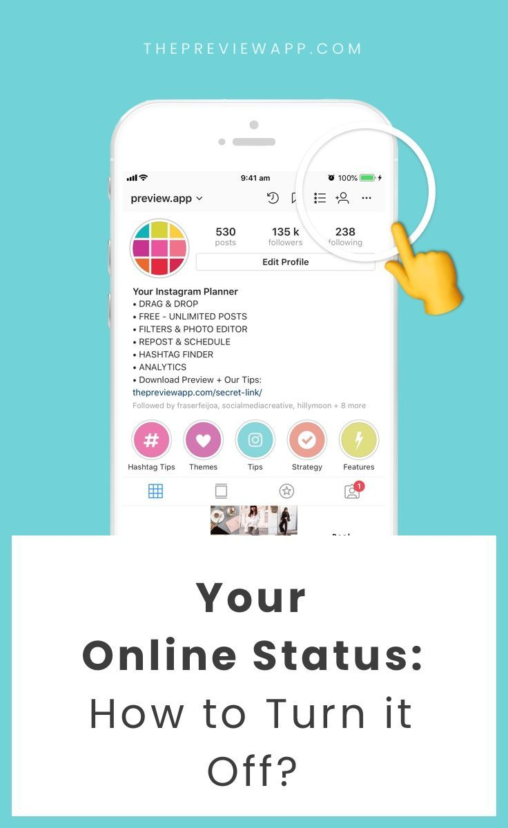 How To Turn Off Your Instagram Online Status So People Don T See When You Re Online Instagram Marketing Tips Content Marketing Tools Instagram Marketing
