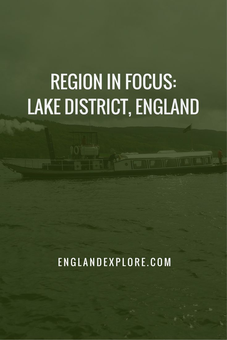 You could easily spend your entire trip to England in the Lake District. The natural beauty of the area includes such a lot in such a confined space, from mountains to valleys, lakes to forests.