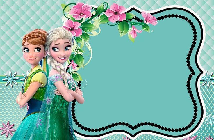 Kit imprimible Frozen 2 Fiebre Congelada para descargar gratis