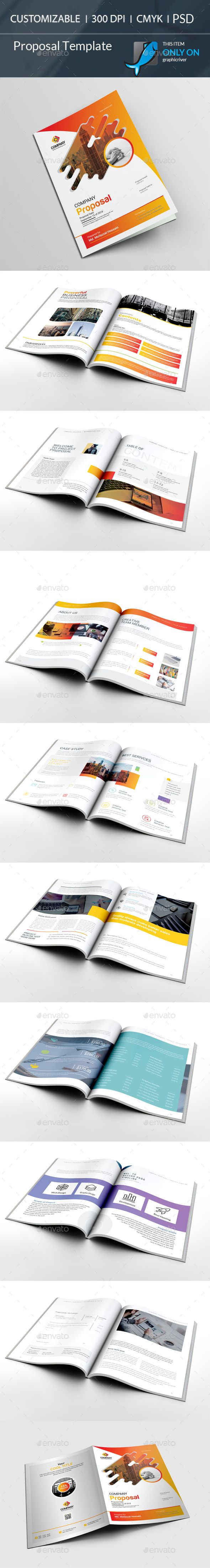 #Proposal Template - #Stationery Print Templates