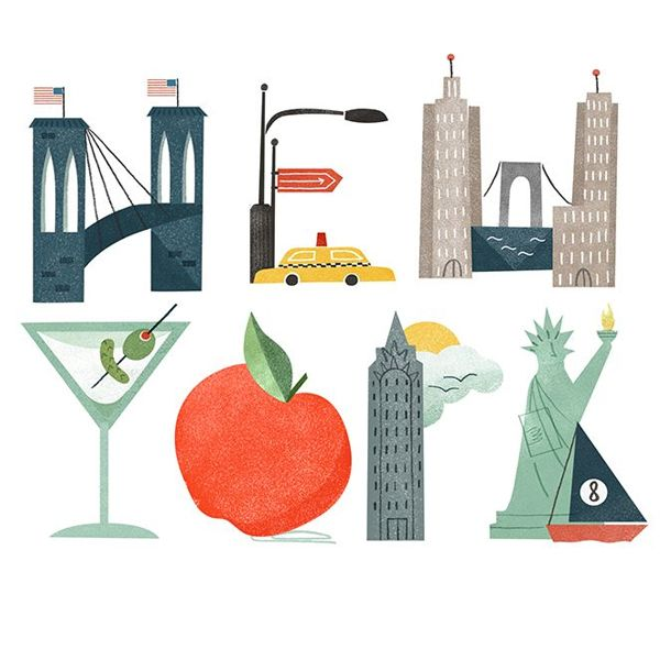 Souvent 248 best NEW YORK illustration art images on Pinterest | The new  PQ59